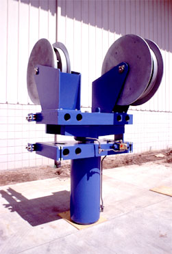 A 260 metric ton capacity Linear Chain Jack commonly used in Bardex Shiplift Systems.